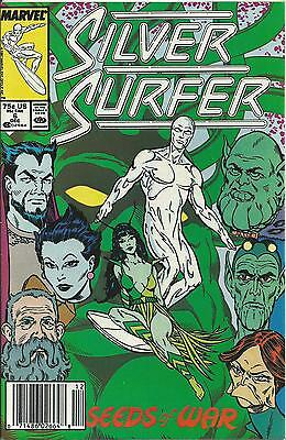 Silver Surfer #6  (3Rd Series - 1987) Marvel (Nm-)