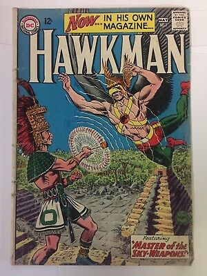 HAWKMAN #1, (1964), Good + Shape, DC Comics, FREE SHIPPING