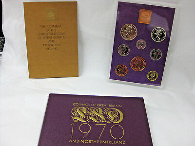 1970 Royal Mint Proof Coin Set  Coinage of Great Britain and Northern Ireland