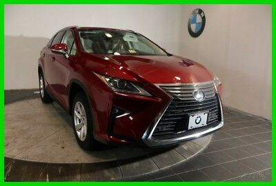 2016 Lexus RX NAVIGATION REAR-VIEW CAMERA HEATED & VENTILATED FR 2016 Lexus RX 350 Red SUV NAVIGATION REAR-VIEW CAMERA HEATED & VENTILATED FR AWD