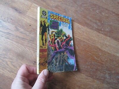 PETIT FORMAT BD SPECTRAL 4  aredit dc 1985 swamp thing