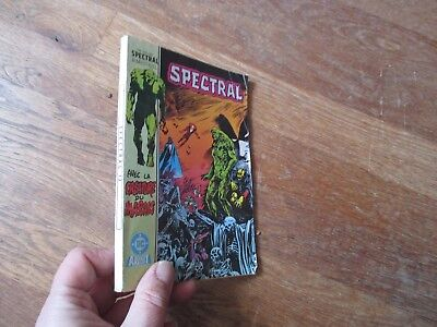 PETIT FORMAT BD SPECTRAL 13  aredit dc 1986 swamp thing