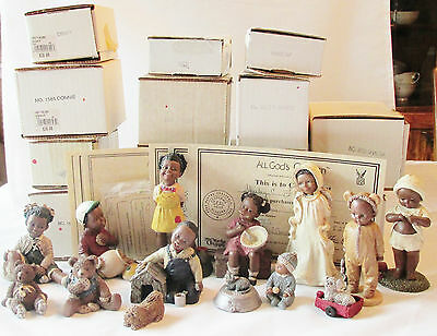 14 All Gods Children Annual Limited Editions Special Event W/ Boxes Certificates