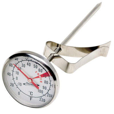 Genware Frothing Thermometer | Milk Thermometer, Food Thermometer