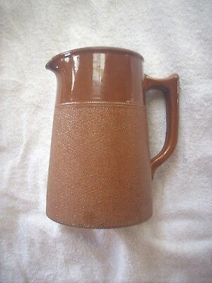 Large R Fowler Marrickville Langley Ware Jug Size 30