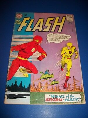 Flash #139 Silver Age 1st App. Prof. Zoom Reverse Flash Huge Key Solid VG- Wow
