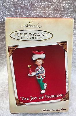 "HALLMARK ""Joy of Nursing"" Christmas ornament 2005 nurse Caregiver RN LPN Aide"