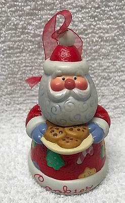 "Hallmark ""Cookie Jar Santa"" ONLY series SWEET TOOTH TREATS ornament 2003 no box"