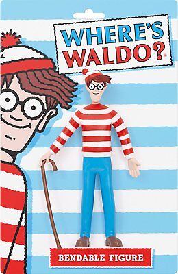 "Action Figures - Where's Waldo - 6"" Toys Bendable wa-4701"