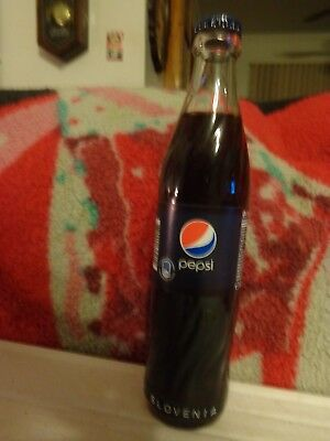 "Pepsi Cola   ""Slovenia ACL Glass Bottle""  0,25L      ""Vintage"""