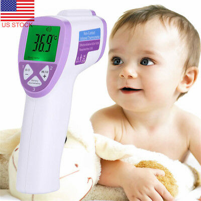 Non-contact IR Infrared Digital Thermometer Gun Forehead Temperature Measurement