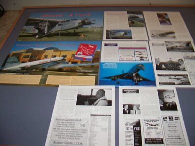 "Vintage..piedmont Airlines ""first Flight""..history/details/photos..rare! (266P)"