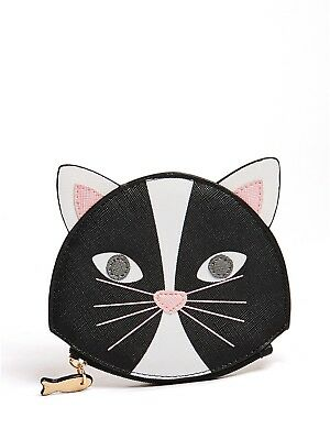 GUESS Factory Girl's Cat Coin Purse
