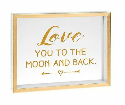 Heartfelt Sentiments Love You To The Moon and Back Box Sign