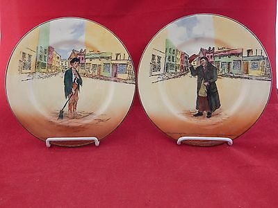 (2) Royal Doulton Dickensware Plates.mr.squeers & Poor Jo.excellent Condition.