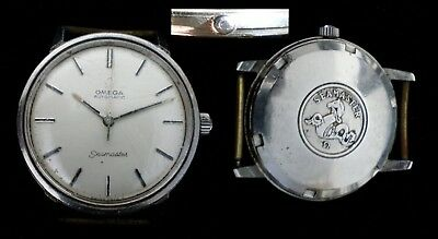 """Vintage Année 60"""" Montre Homme Omega Seamaster Automatic Old Watch"""