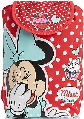 Disney Minnie Mouse Cupcakes Knapsack Backpack School Bag Kids/Toddler -BN