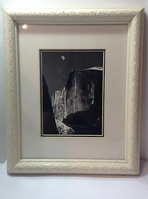 Ansel Adams Fine Reproduction Photo Framed MOON AND HALF DOME Museum Graphics