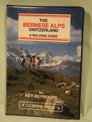 A Cicerone Guide The Bernese Alps Switzerland by Kev Reynolds Good Condition