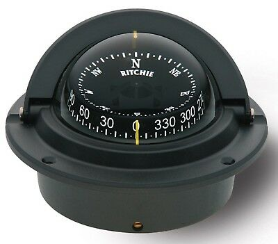 Ritchie Voyager Compass CombiDial Flush Mount Movable Sun Shield F-83