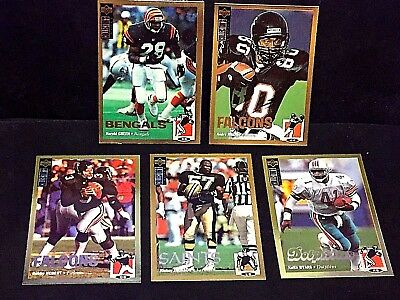 1994 Collector's Choice LOT of ( 5 ) GOLD Foil SP Parallels RARE Only 1 Per BOX!