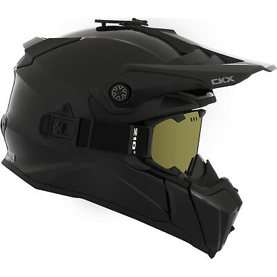 CKX - Titan Atlas Black Modular Snow Helmet - Small