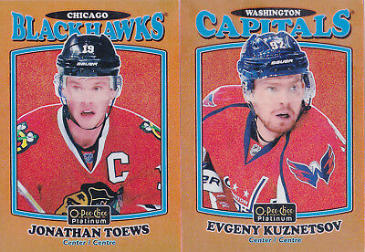 16-17 OPC Platinum Evgeny Kuznetsov /49 Retro ORANGE Rainbow OPEECHEE 2016