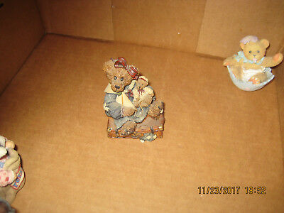 Figurine Boyds Bears & Friends 1993 A Journey Begins With A Single Step