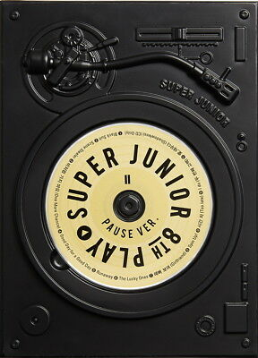 SUPER JUNIOR - PLAY [PAUSE ver.] (Vol.8 Special) CD+Photobook+Poster+Free Gift