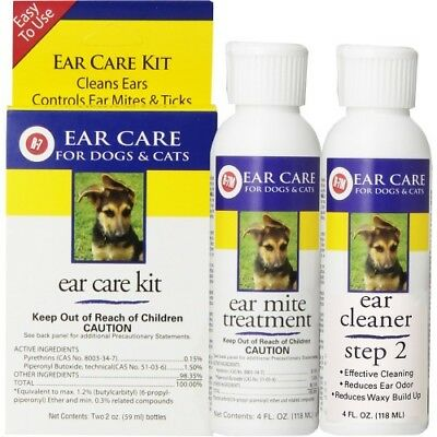 Miracle Care - R-7M Ear Mite Treatment for Dogs and Cats - 1 fl. oz.