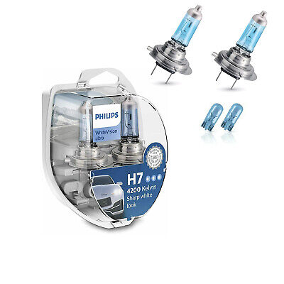 Philips RacingVision Blister 2 Lampade H7 +150% Luce Più Bianca