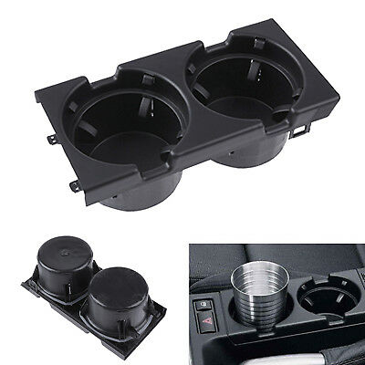 Car Auto Center Console Box Coin Cup Dual Drink Holder For BMW E46 3SERIES 98-06