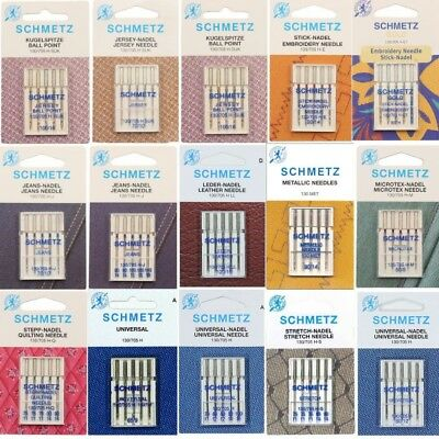 Schmetz Sewing Machine Needles Full Selection
