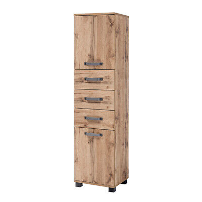 badezimmer hochschrank 60 cm breit 4 t ren badschrank badm bel badezimmerschrank eur 149 00. Black Bedroom Furniture Sets. Home Design Ideas