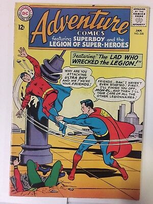 ADVENTURE COMICS #328, (1965), SUPERBOY, Fine Shape, DC Comics, FREE SHIPPING
