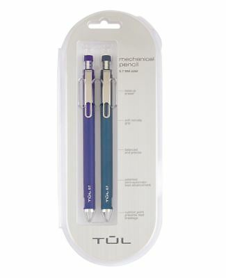 2-pk TUL 0.7mm Mechanical Pencils NAVY & ROYAL BLUE BODY Free Shipping NEW