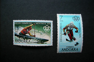 Andorra (sp) Olympia Montreal 1976 *** (scan)