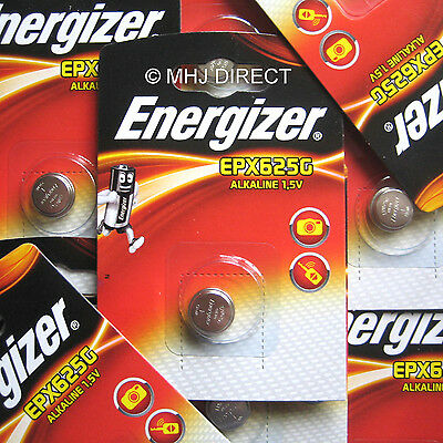 2 x Genuine Energizer LR9 PX625A EPX625G V625U 1.5v Batteries Use By Date 2020