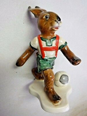 Goebel Bavarian Bunnies - Soccer Bunny Rabbit figurine