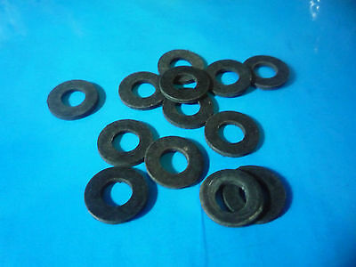 Pack of 30 Assorted (Mixed)  BLACK RUBBER WASHERS (Neoprene)   M5  M6  M8