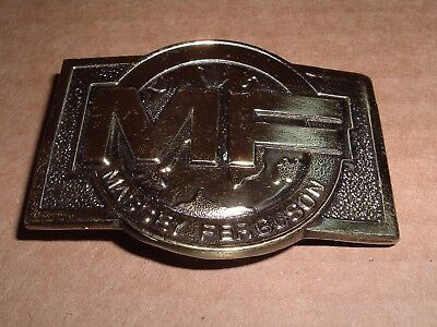 1978 Massey Ferguson MF Farm Equipment Belt Buckle Tractors combines