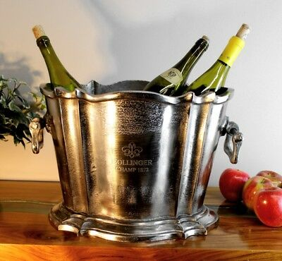 Bollinger Champ 1872 Ice Bucket Trophy for Winners Only - Planter Thick Metal