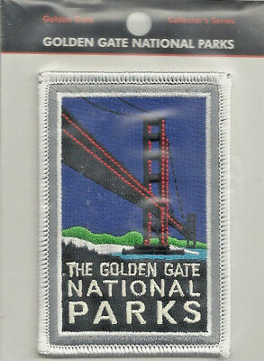 The Golden Gate National Parks Souvenir Patch  San Francisco