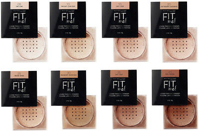 MAYBELLINE Fit Me! LOOSE FINISHING POWDER Lightweight Translucent *YOU CHOOSE*