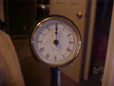 Byers Choice Exclusive Working Street Clock, Great Accessory NOS