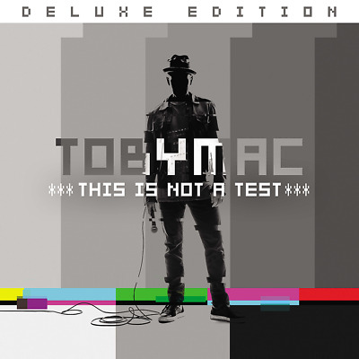 Toby Mac - This Is Not A Test [Deluxe Edition] CD 2015 ** NEW ** STILL SEALED **