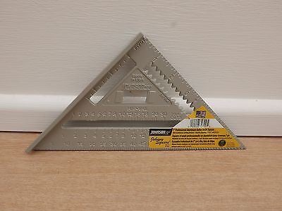 "Johnson 7"" Professional Aluminum  Rafter Roofing Angle Johnny Square"