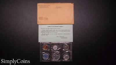 1959 Proof Set ~ Original Envelope With COA ~ US Mint Silver Coin Lot SKU-808