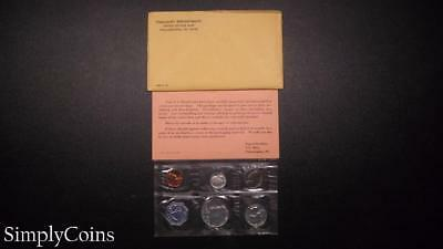 1964 Proof Set ~ Original Envelope With COA ~ US Mint Silver Coin Lot SKU-813