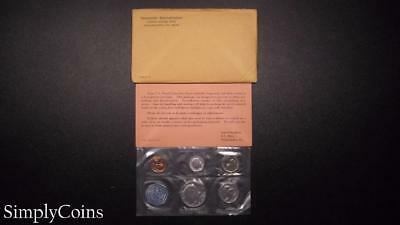 1964 Proof Set ~ Original Envelope With COA ~ US Mint Silver Coin Lot SKU-815